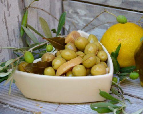 Olives citron