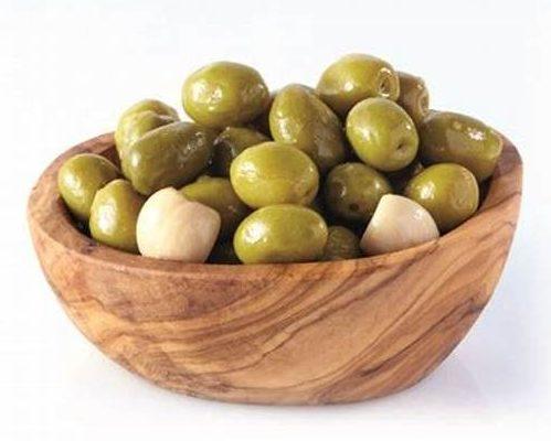 Olives vertes ail