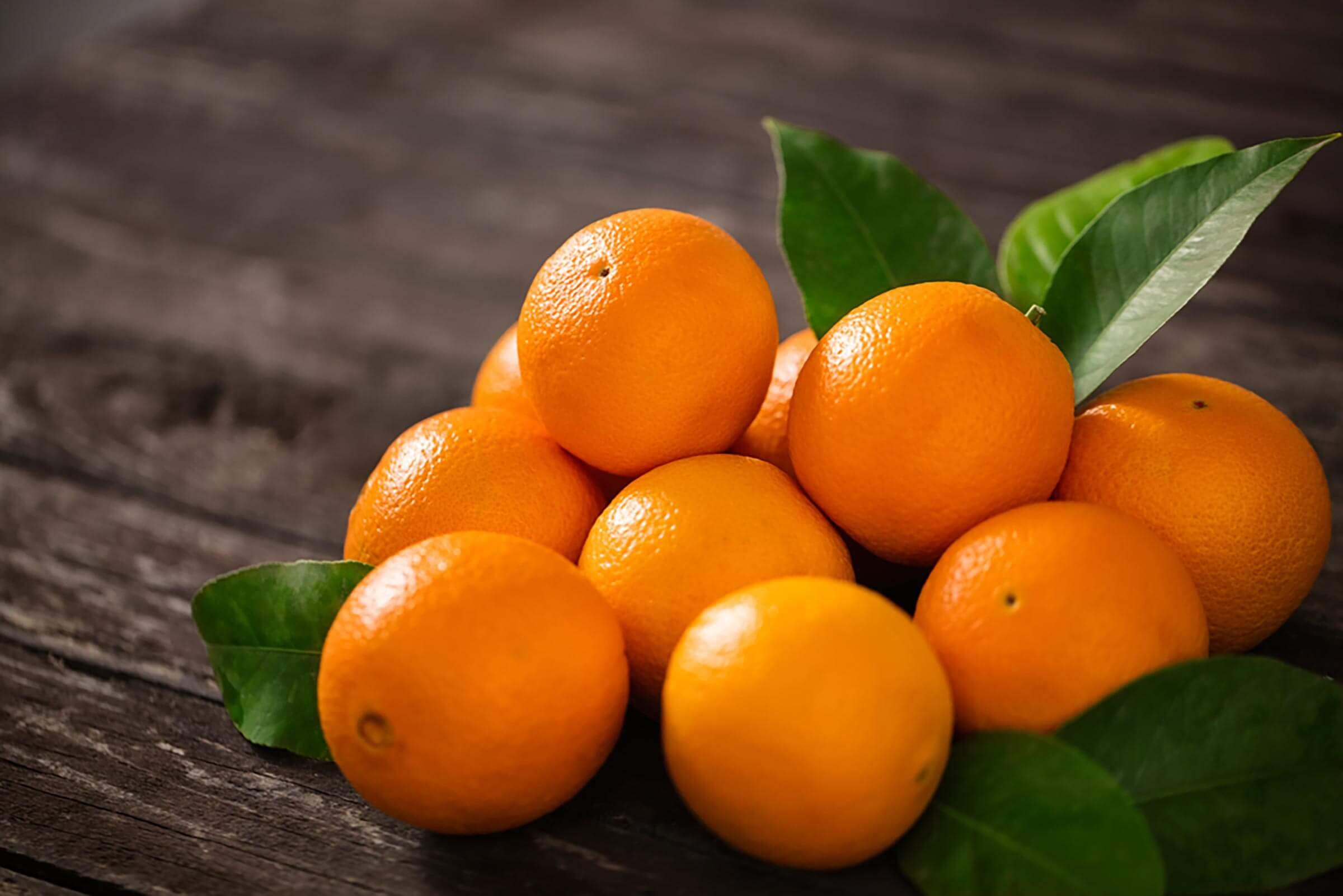 Oranges de table