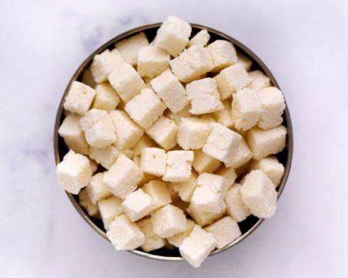Noix de coco cube