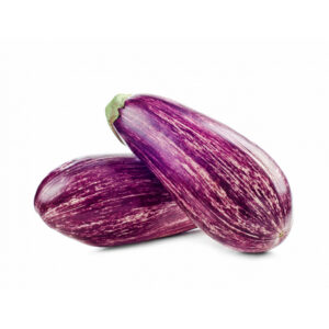 aubergines striées